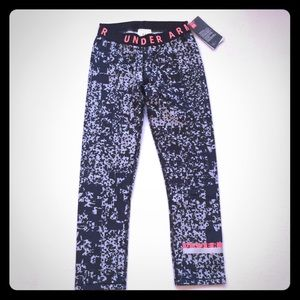 Women's Under Armour patterned cropped leggings